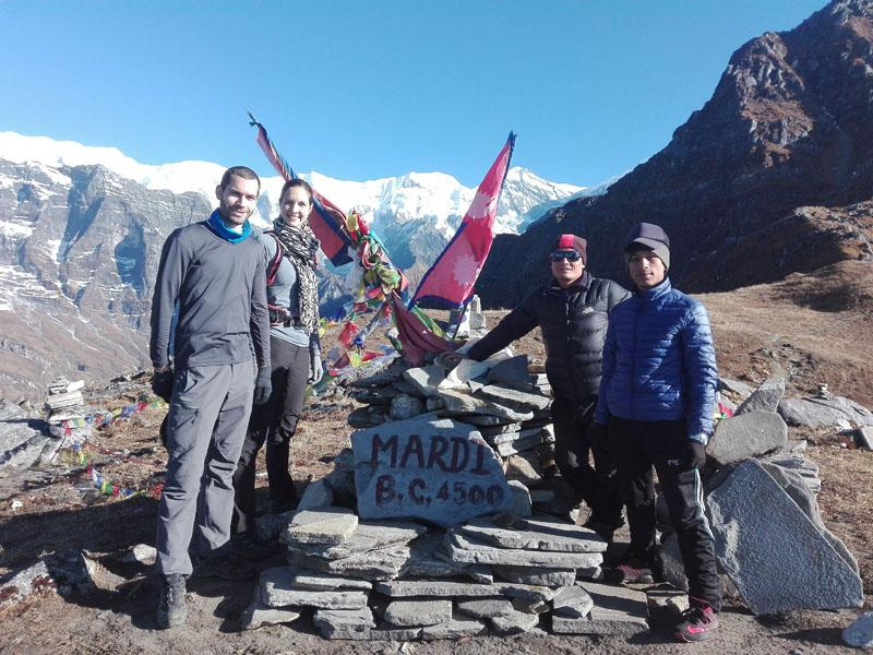 Mardi Himal BC