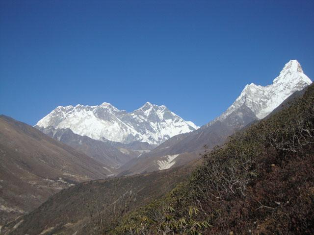 Everest and Ama Dablam