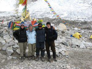 South Base Camp of Everest