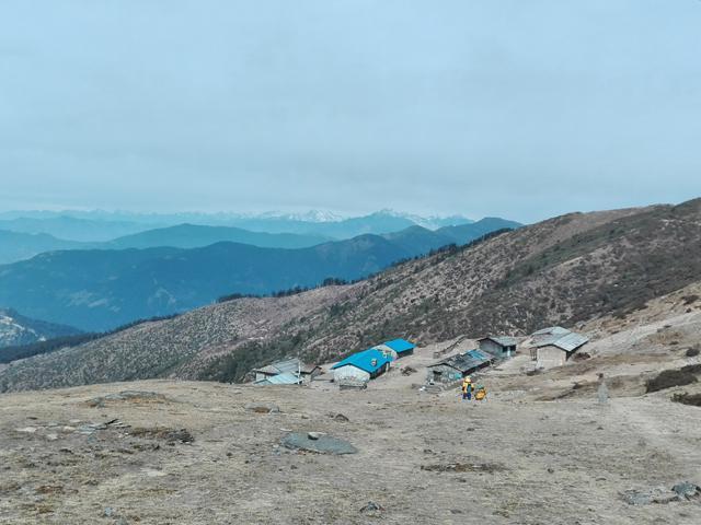Pikey Peak Base Camp